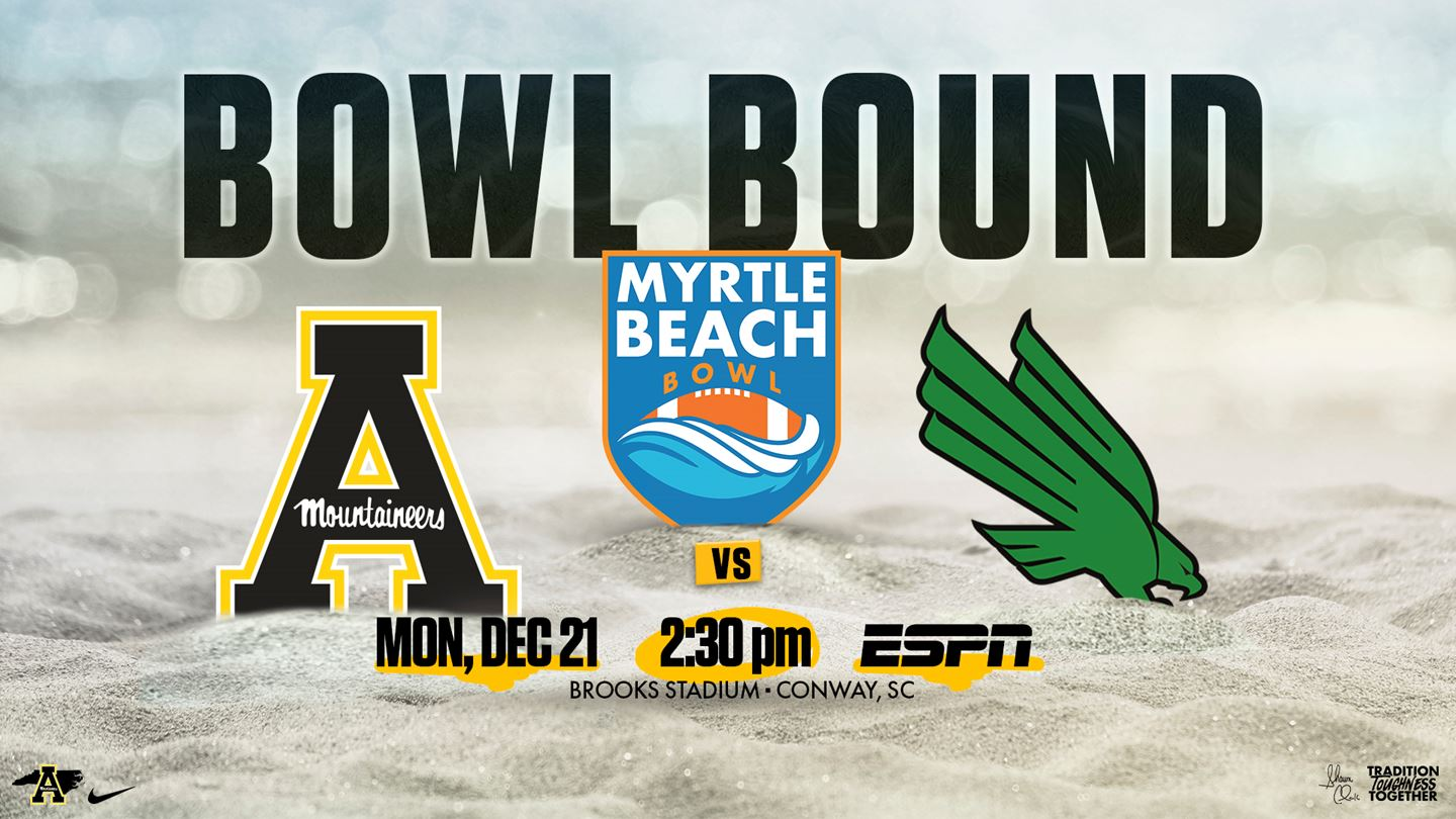 App State Earns Invite to First-Year Myrtle Beach Bowl