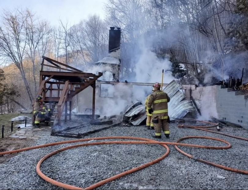 Sugar Grove home total loss after Wednesday fire