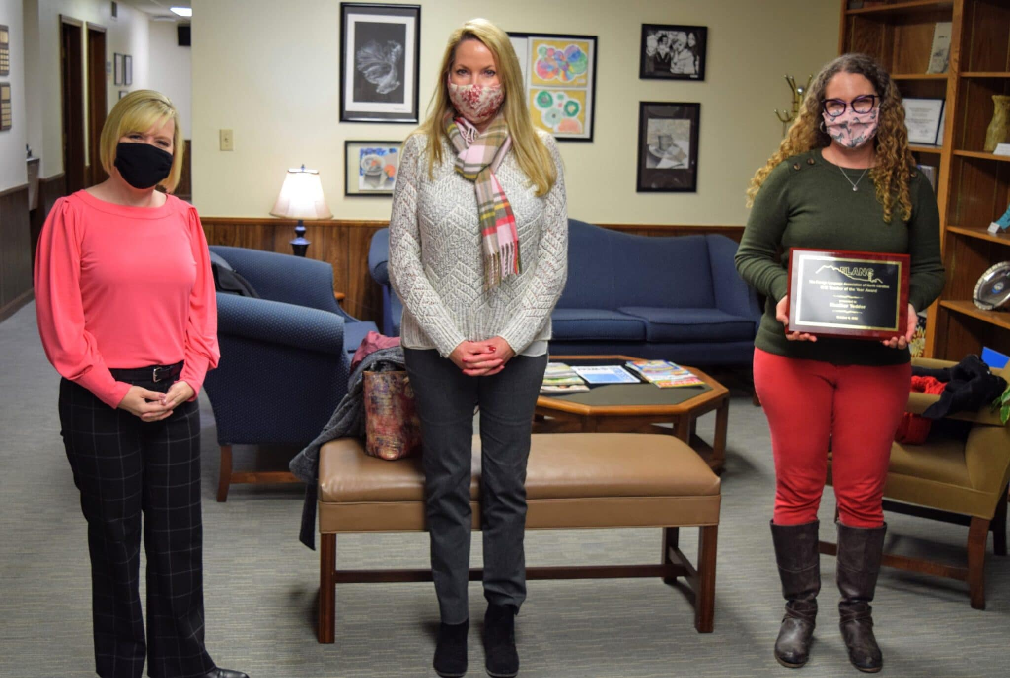 WHS foreign language teachers recognized for awards