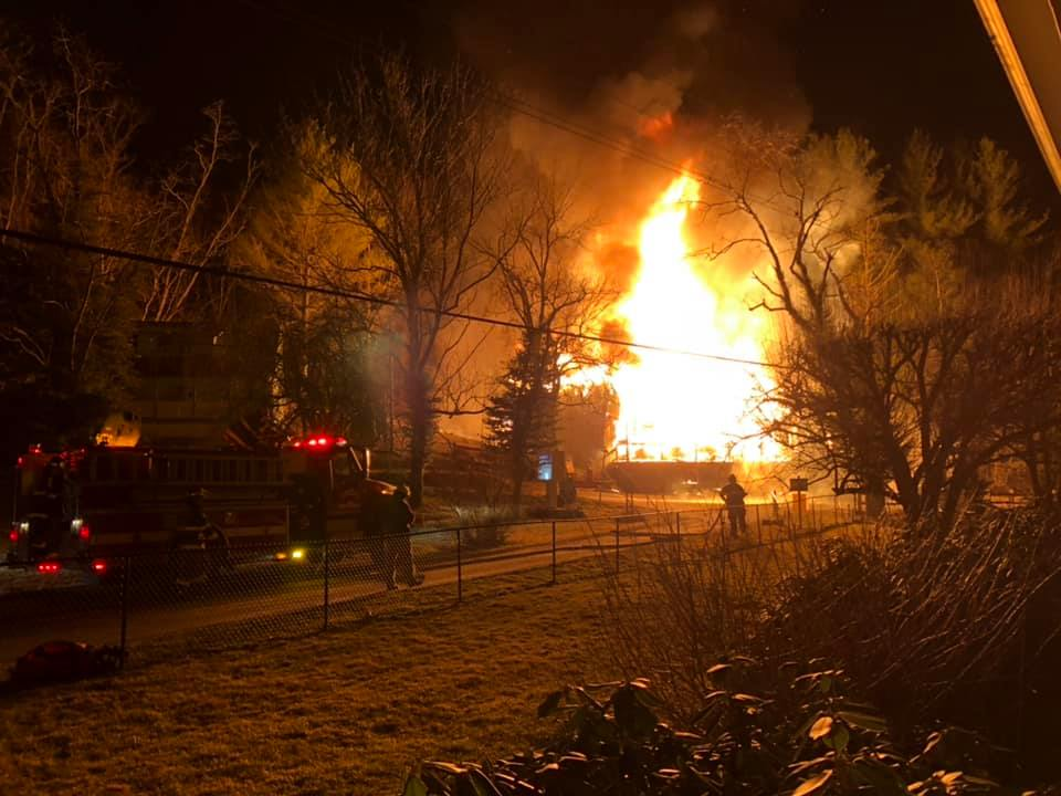 Todd General Store destroyed by Thursday night fire