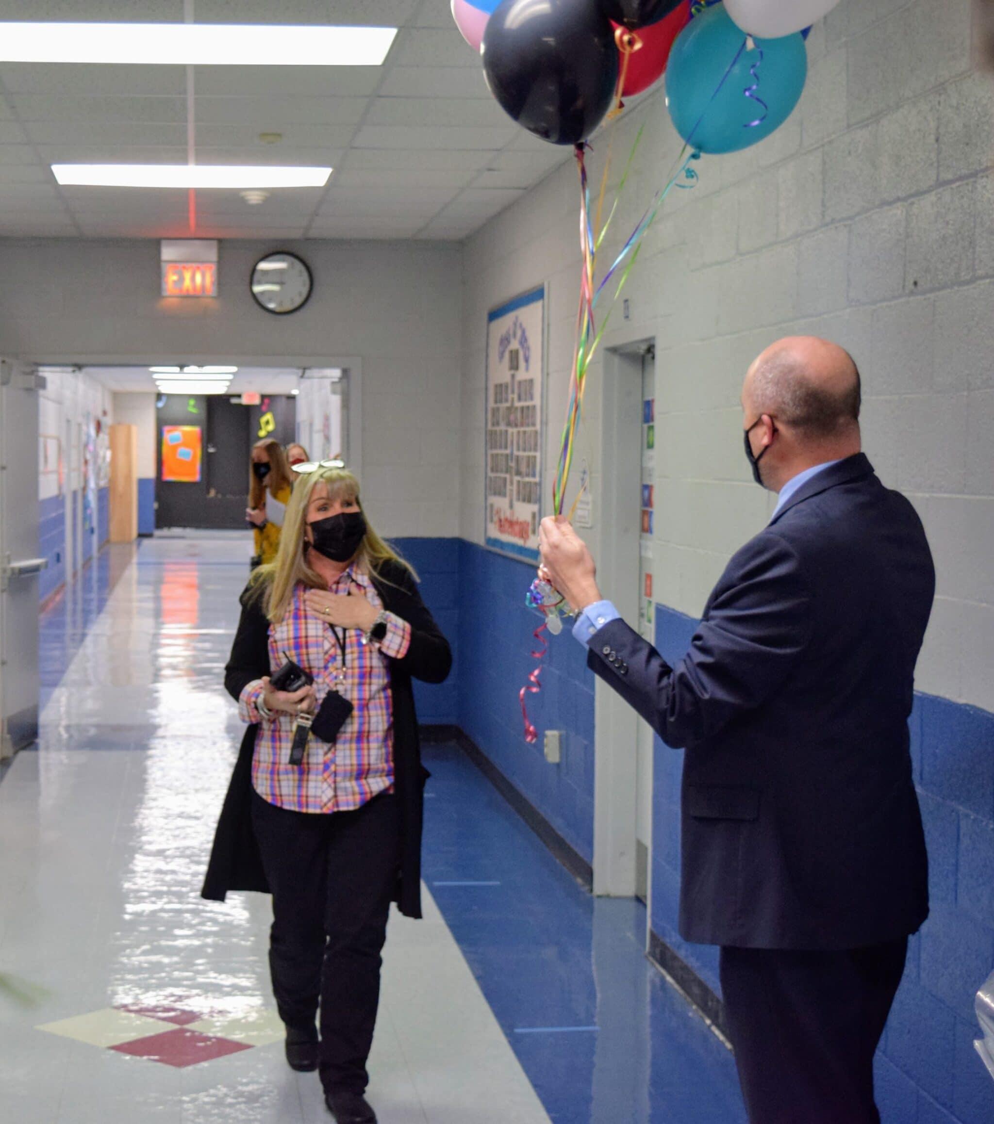Parkway Principal Patty Buckner named Principal of the Year