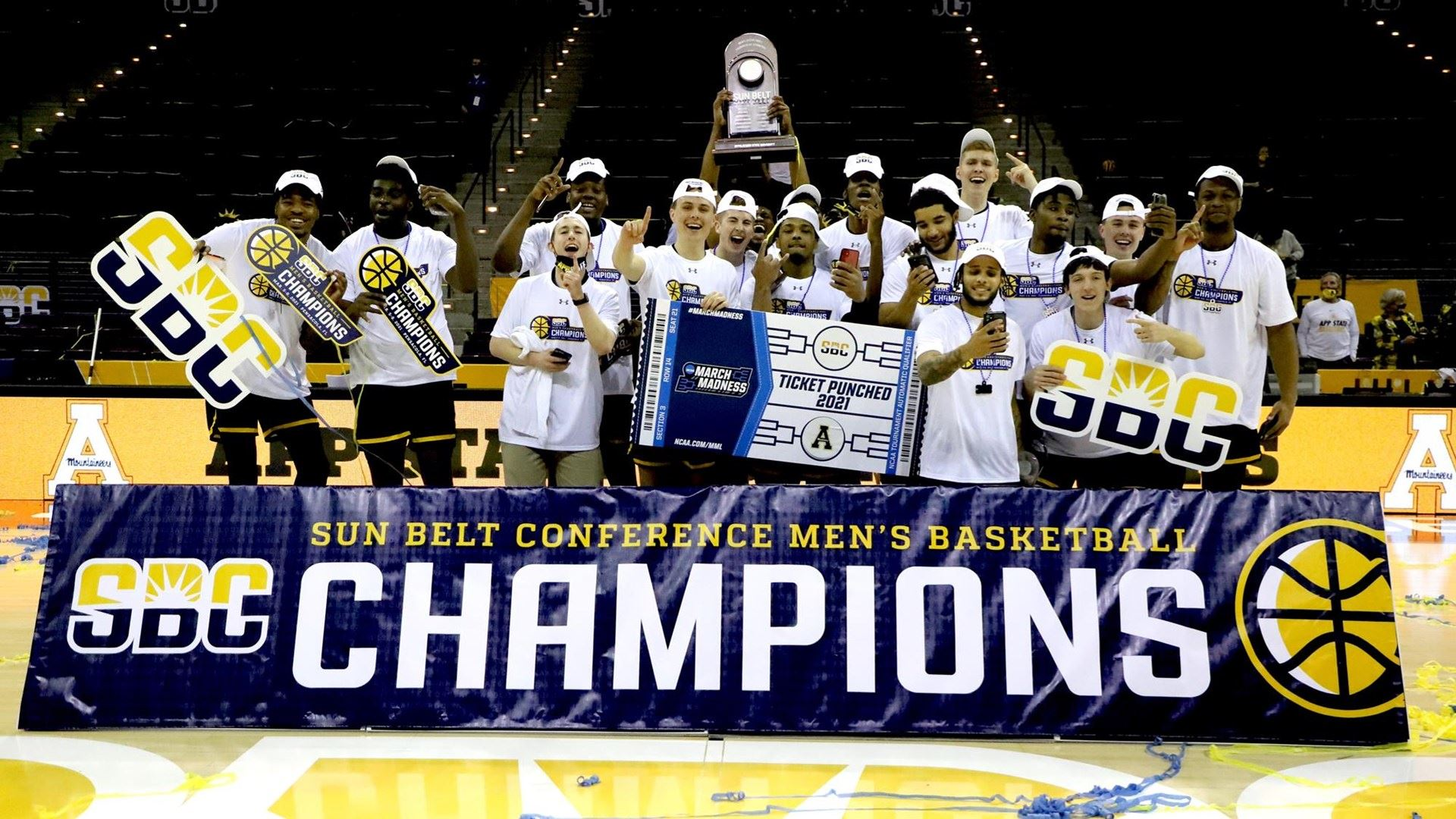 CHAMPS! App State Secures NCAA Bid with SBC Tourney Title