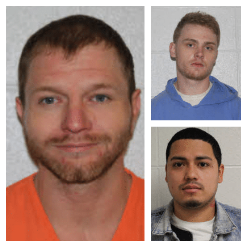 Three Avery inmates help officers during an assault