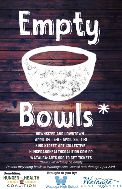 Empty Bowls is Back!