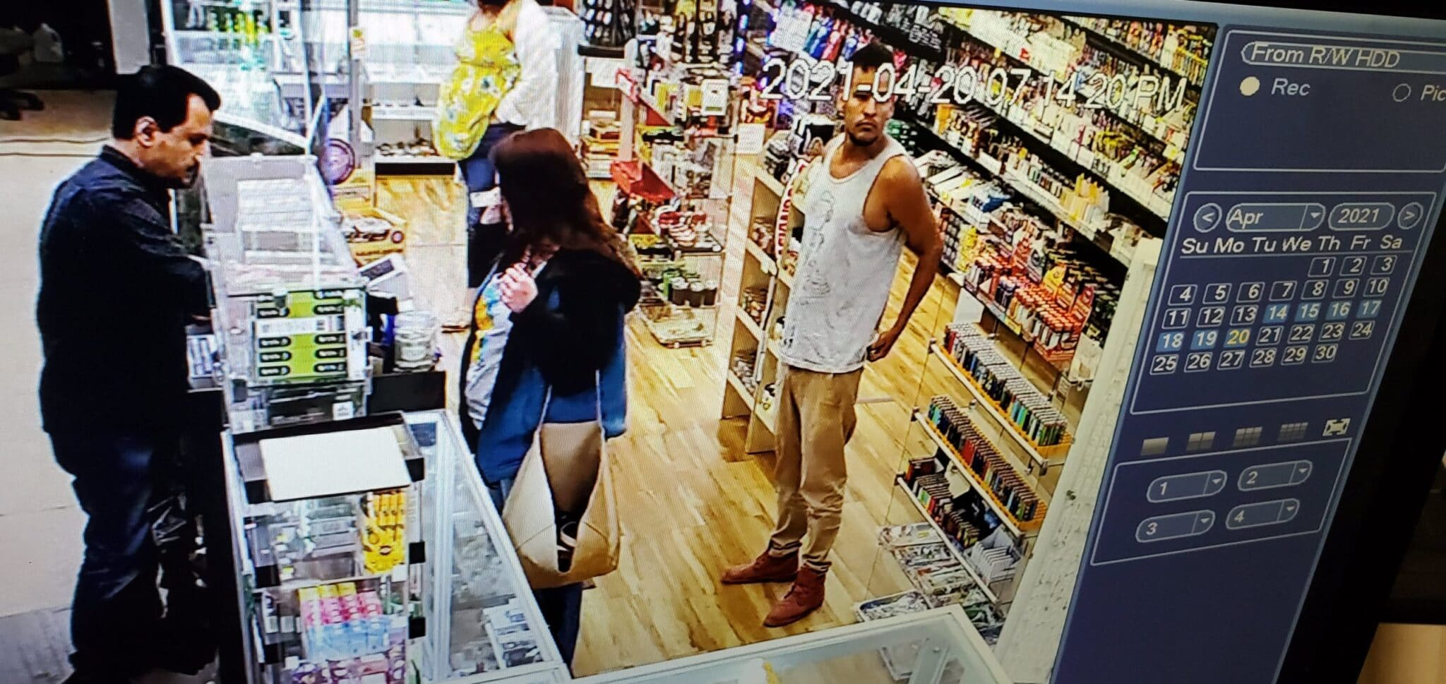Crime Stoppers seeks help in theft of wallet from A2Z Tobacco
