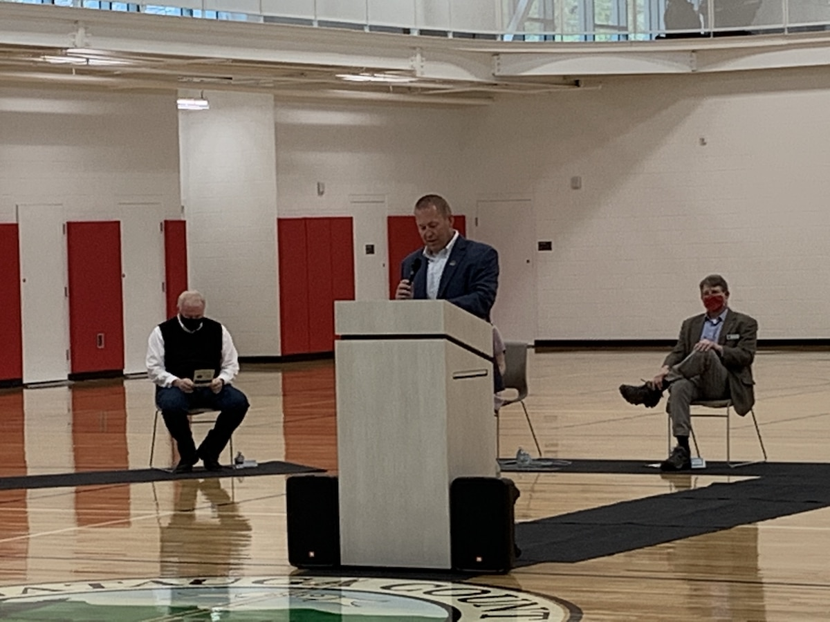 Watauga Community Recreation Center Ribbon Cutting Ceremony