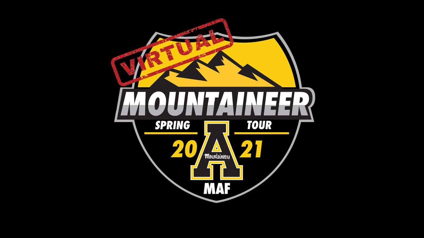 Virtual Mountaineer Spring Tour on Thursday April 29