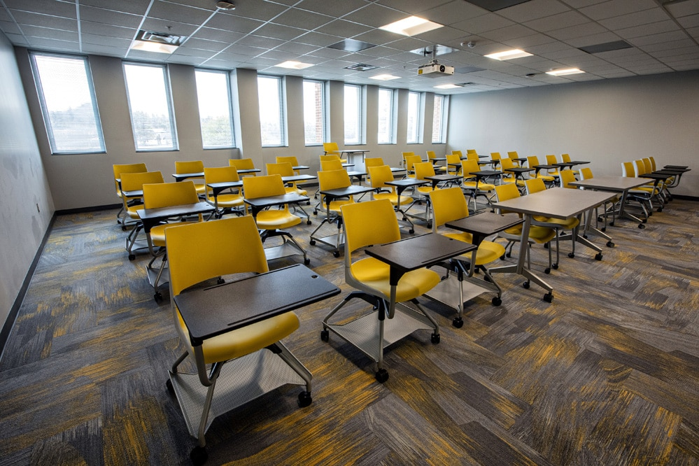 Newly renovated Sanford Hall is ready to welcome App State students