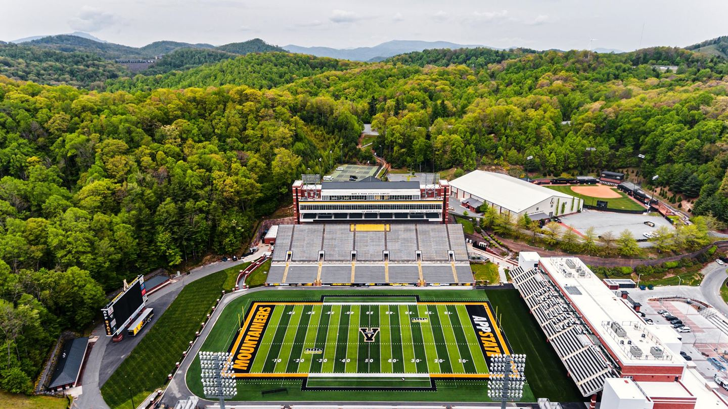 Football: Six App State Game Times and TV Networks Announced