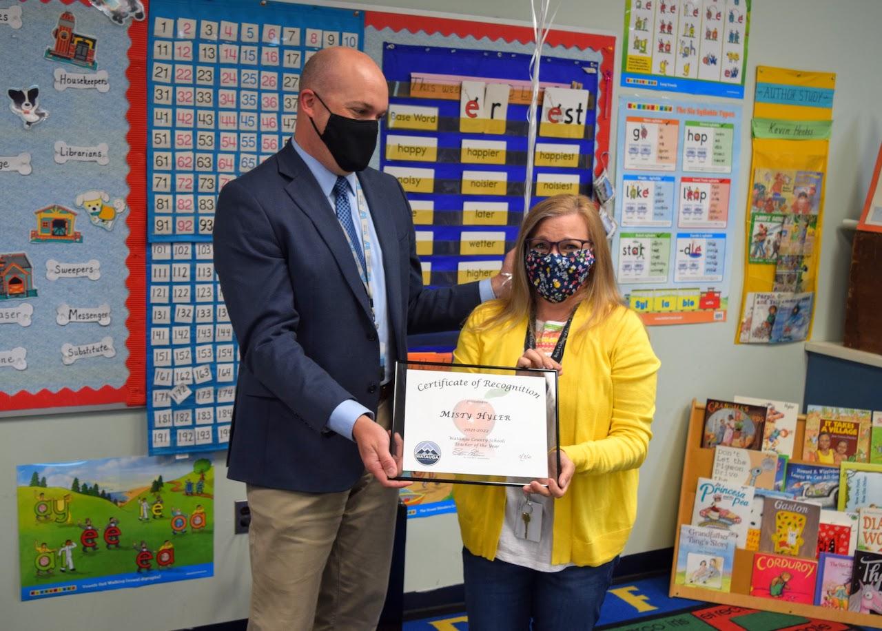 Misty Hyler named Watauga County Schools Teacher of the Year