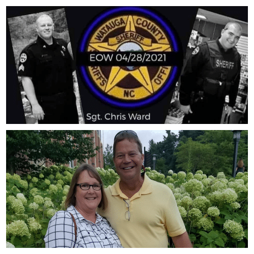 How to contribute to the families of Sgt. Chris Ward, K-9 Deputy Logan Fox, George and Michelle Ligon