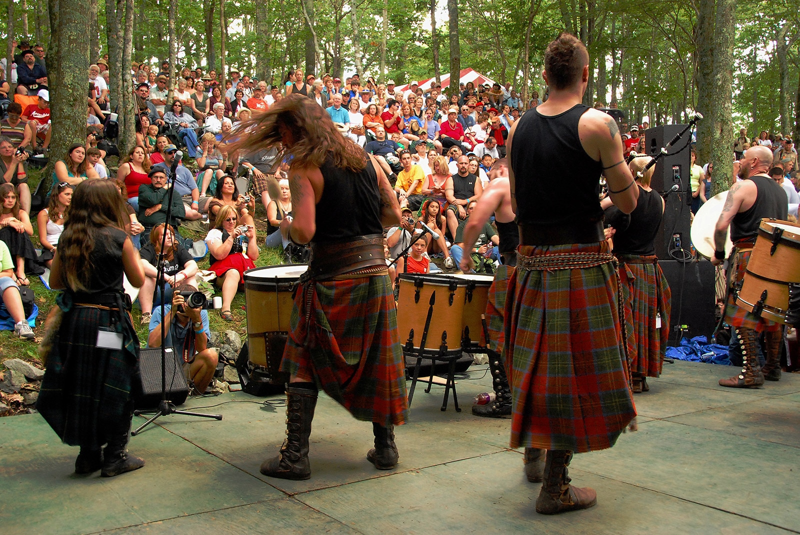 Grandfather Mountain Highland Games return July 8-11, 2021