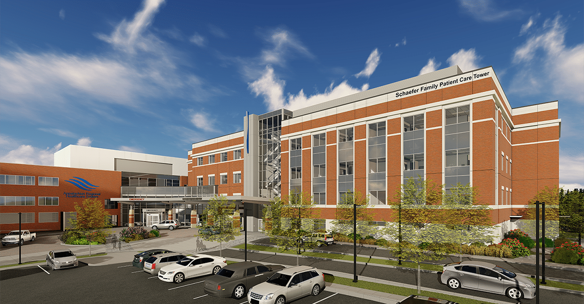 ARHS names Schaefer Family Patient Care Tower in honor of lead gift