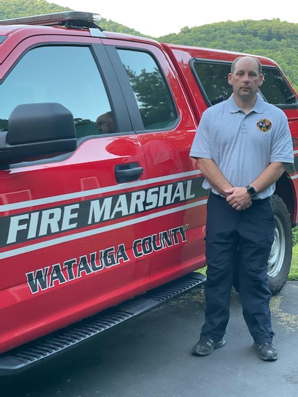 Shane Garland hired as Watauga County Fire Marshal
