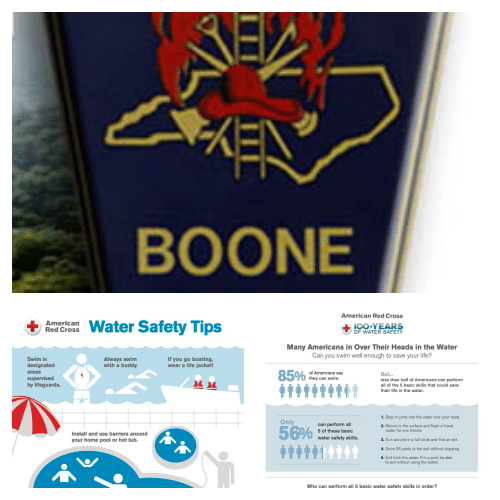Water Safety Information from Boone Fire Department