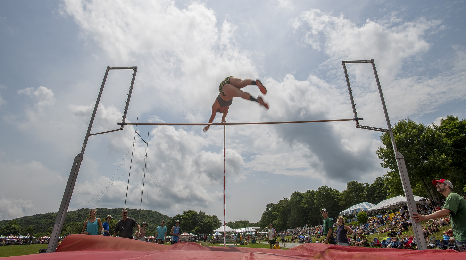 App State students take top honors in Highland Games Track & Field