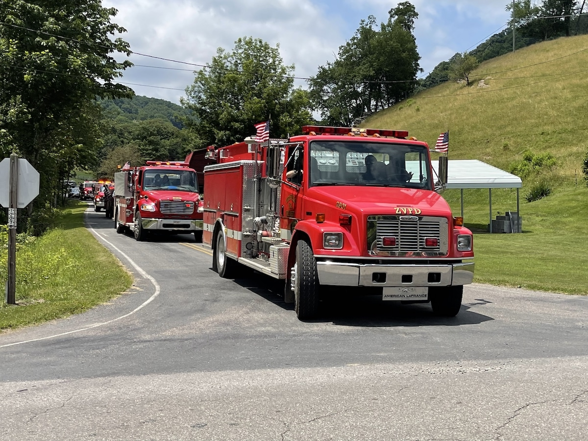 Zionville Fire Department July 4, 2021 Parade