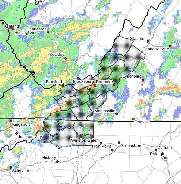 Flash Flood Watch for Watauga County, NC, Ashe County, NC, Wilkes County, NC - July 1-2, 2021