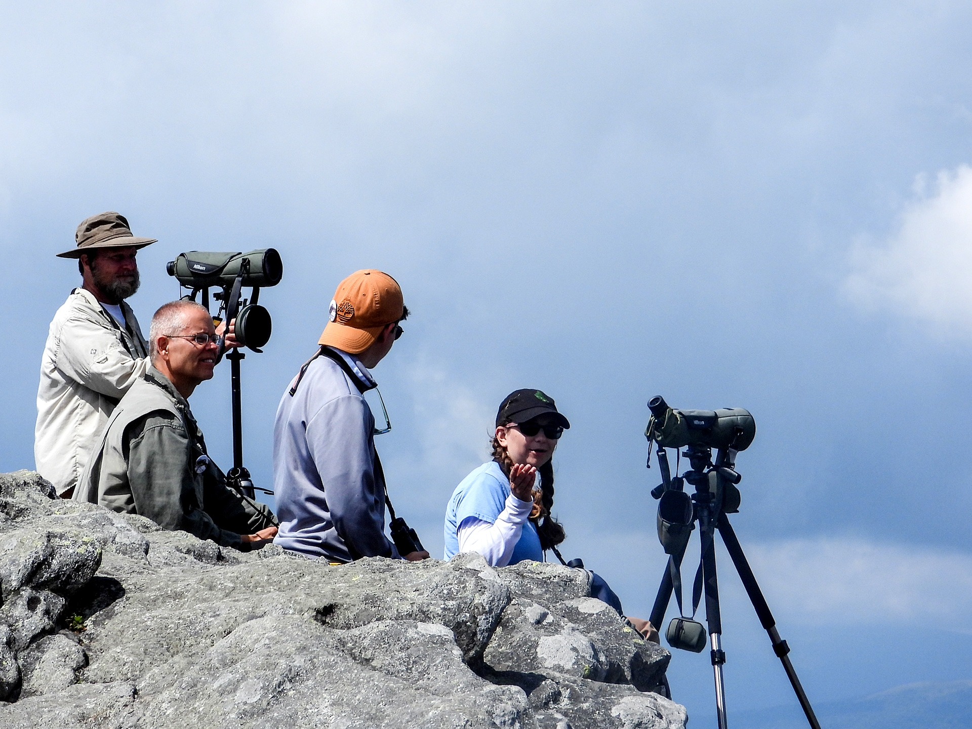 Hawk Watch returns to Grandfather Mountain in September