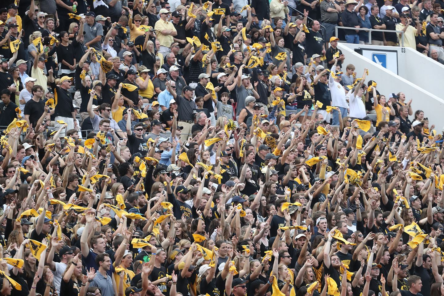 Update on App State Football Tickets