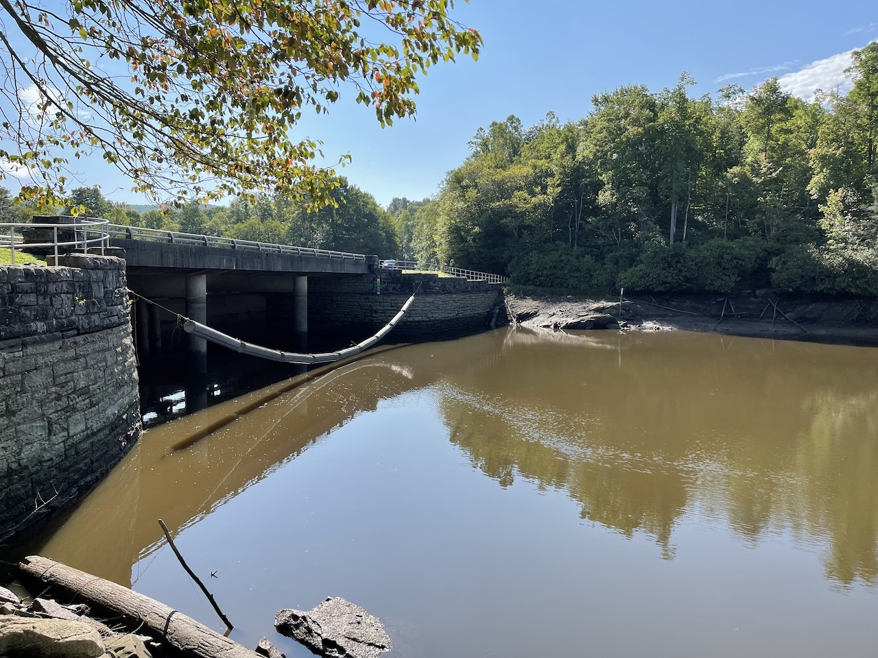 Price Lake closed after dam is damaged during storm