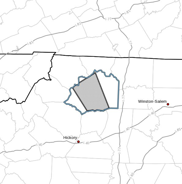 Tornado Warning for Wilkes County until 12:30pm - Tuesday August 17, 2021