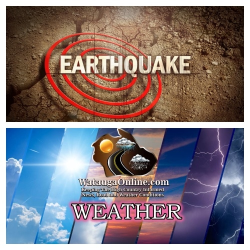 Wild Tuesday starts with an earthquake, ends with Tornado & Flood Warnings
