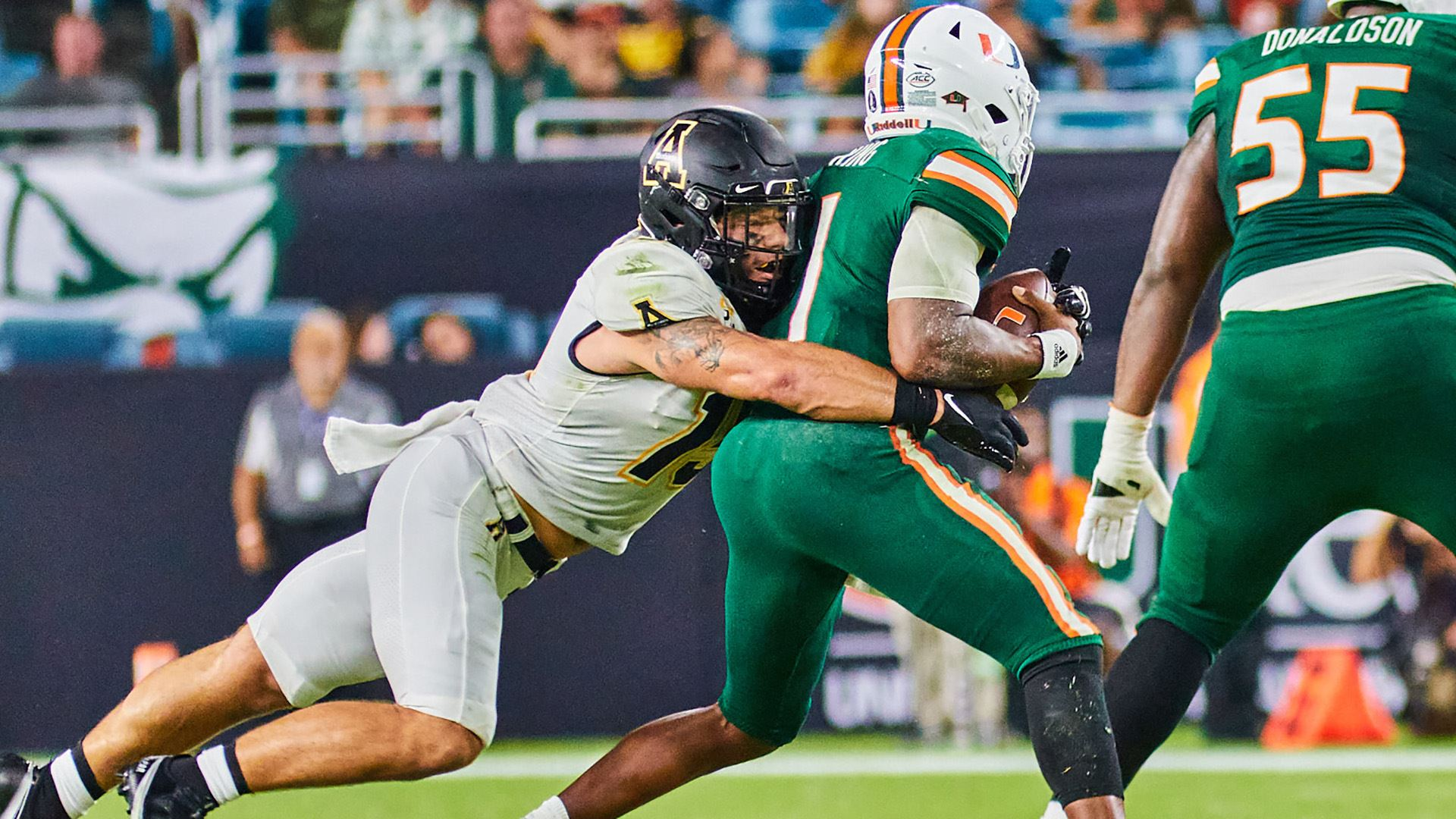App State Rallies Late, Falls Short Against No. 22 Miami