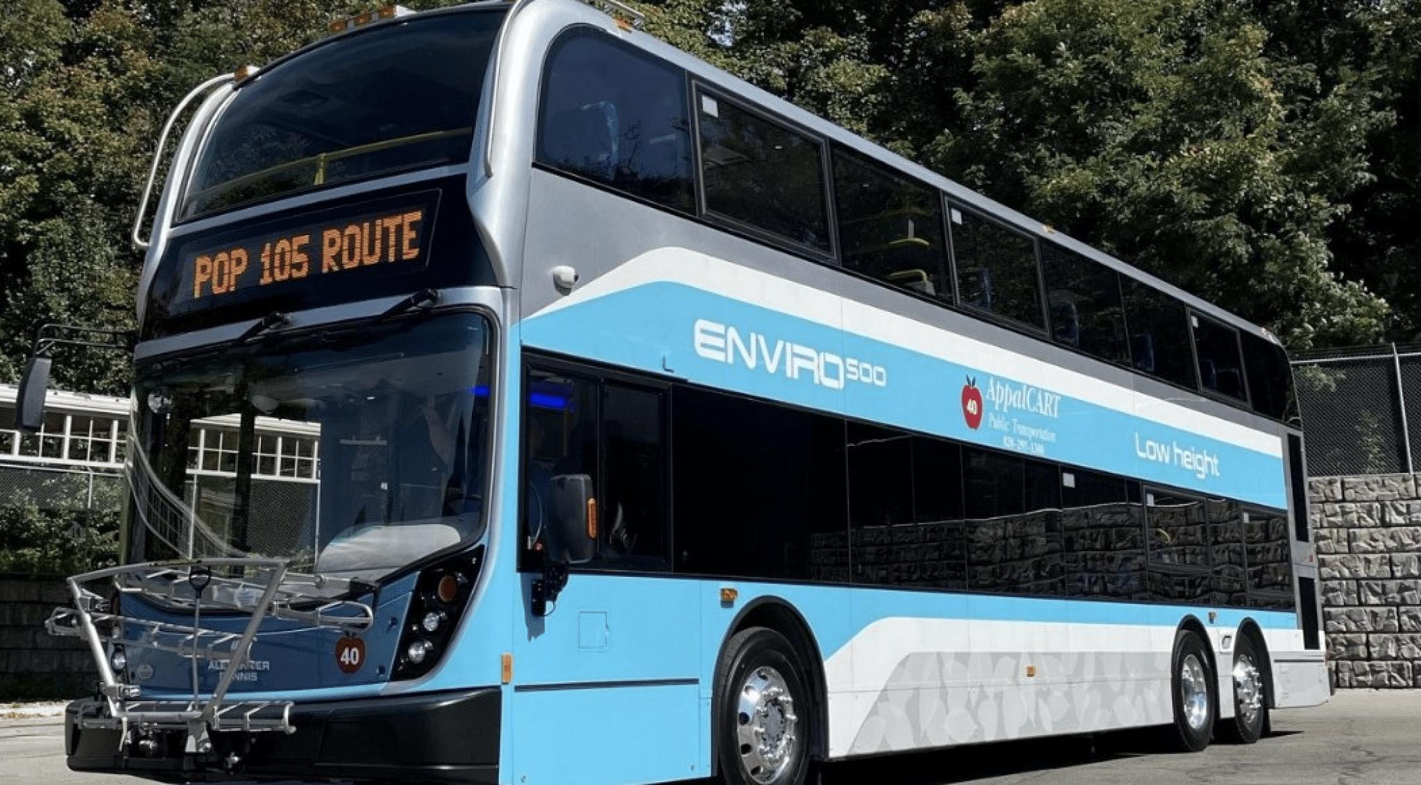 AppalCART to demo double decker bus