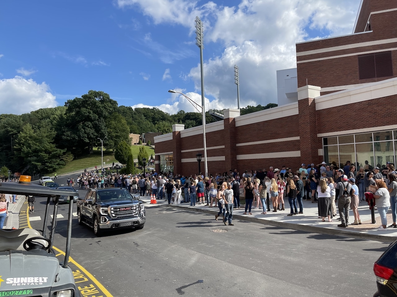 Luke Combs concert at App State - sights & sounds Saturday September 4, 2021