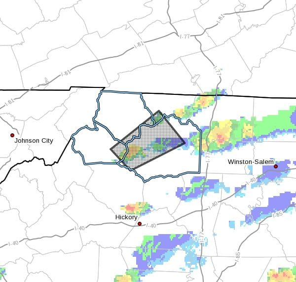 Special Weather Statement for Watauga County, NC, Ashe County, NC, Wilkes County, NC -Wednesday Sept 8, 2021