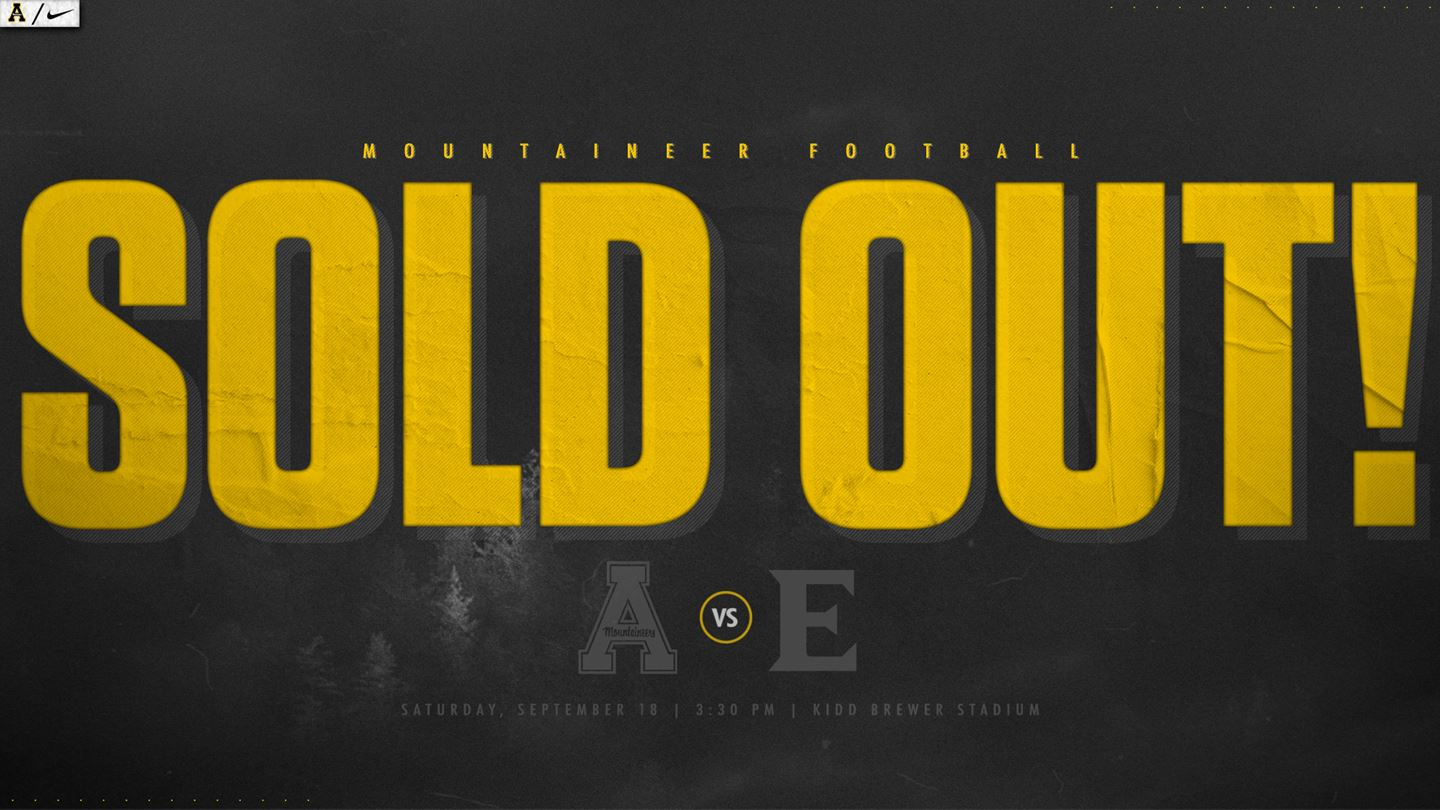 App State-Elon Football Game SOLD OUT
