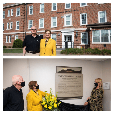 New name for App State's Founders Hall honors benefactor who was born there